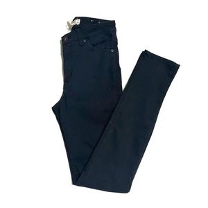 H&M High Waist Black Skinny Jeans